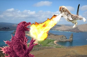 kitty-fire-godzilla